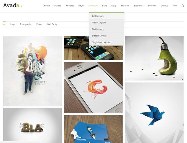 Avada WordPress-Theme