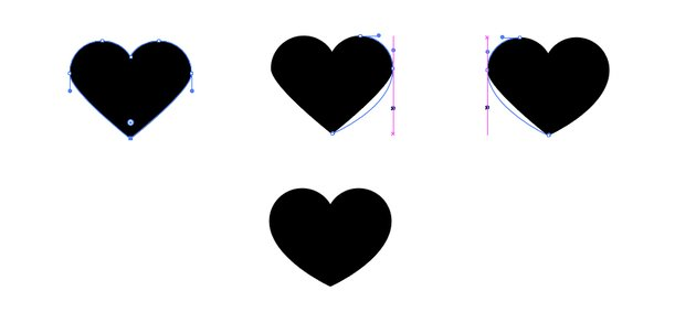 Complete your heart shape