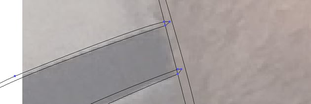 Overlapping lines