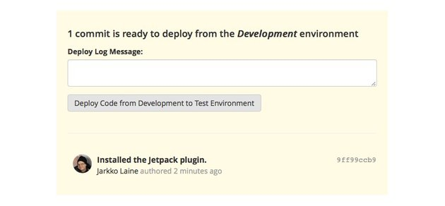 1 commit is ready to deploy