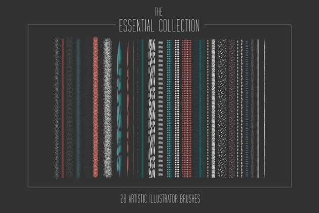 Essential Artistic Adobe Illustrator Brushes