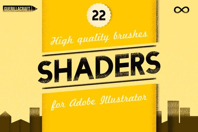 Shader Brushes For Adobe Illustrator