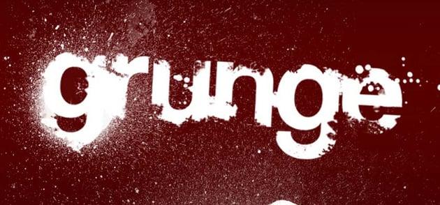 Grunge Type Photoshop Tutorial