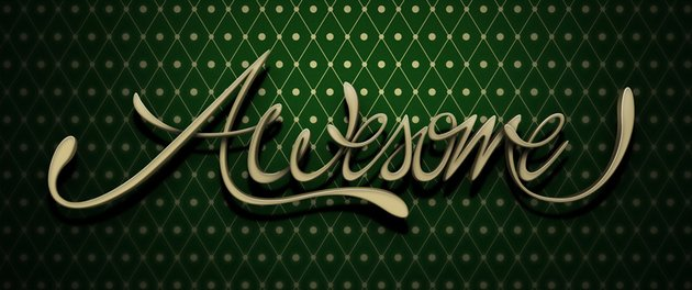3D Lettering Typography Adobe Photoshop Tutorial