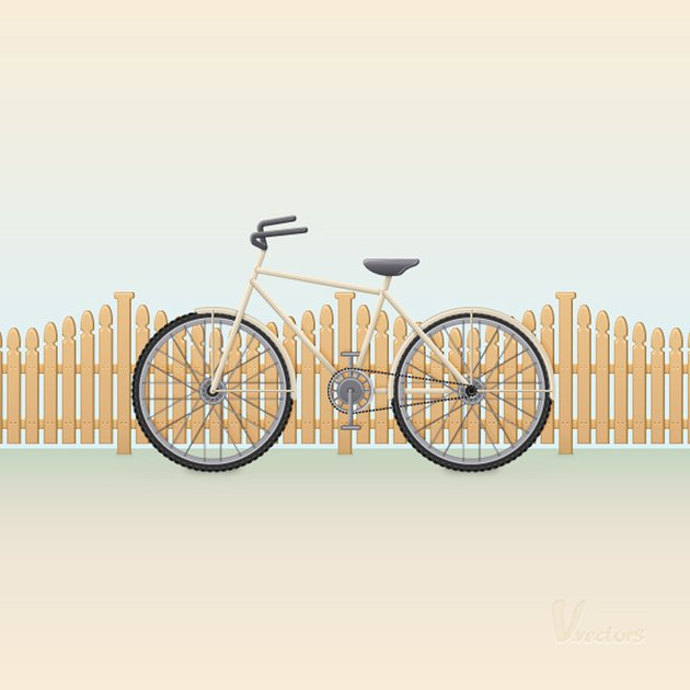 Bike Vector Illustration Adobe Illustrator Tutorial