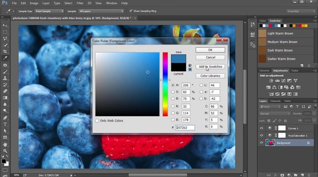 Creating Color Swatches with the Color Picker