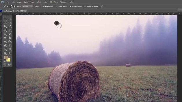 The Spot Heal Brush in Photoshop
