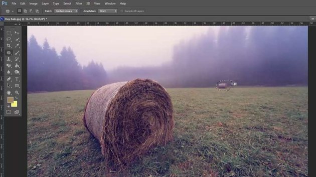 Patch Tool in Photoshop