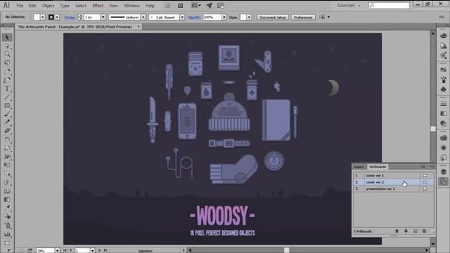 The Artboard Panel in Adobe Illustrator