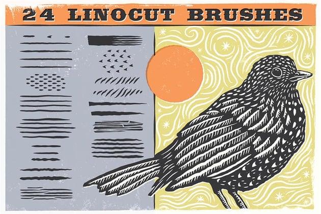 Linocut Brushes