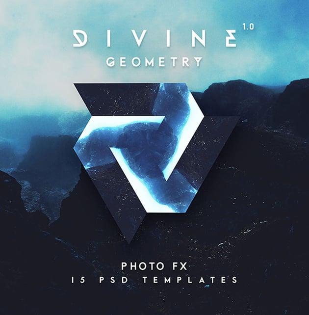 Geometry Art Photo Template