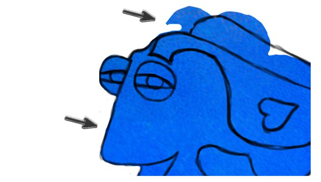 Add Fish Skin to Dory from Finding Dory