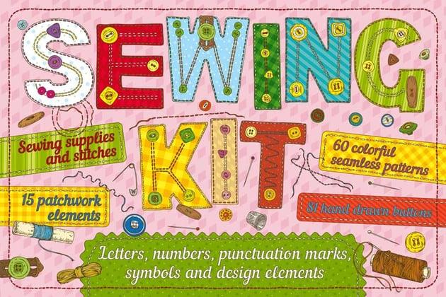 Illustrator Sewing Kit