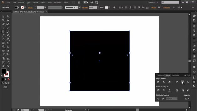 Creating a Rectangle in Illustrator