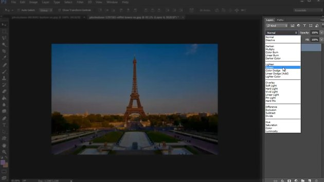 The Layers Panel in Adobe Photoshop