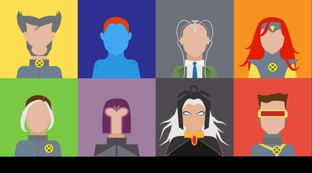 X-Men Avatars Adobe Illustrator Tutorial