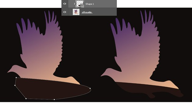 Create a Hill with the Pen Tool