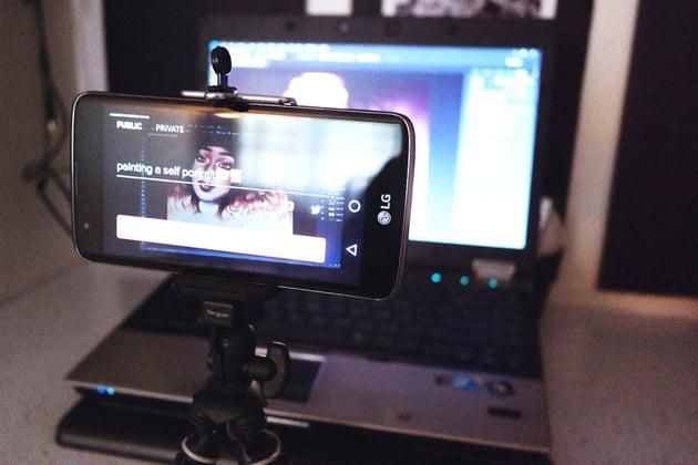 Phone Tripod for Periscope