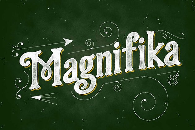 Magnifika Classic Serif Fonts