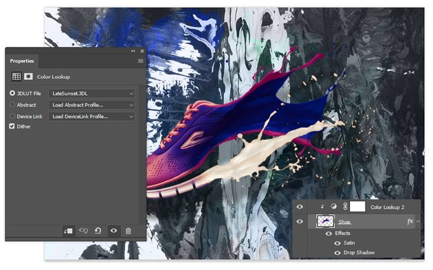 Add a New Adjustment Layer of Color Lookup