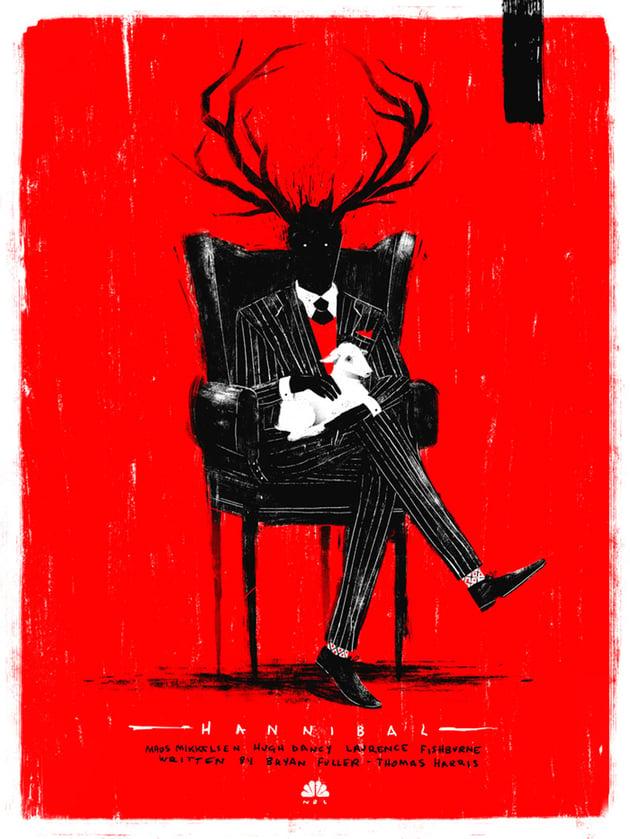 Hannibal Fanart by Marie Bergeron