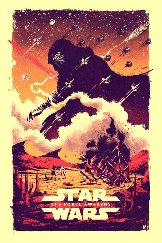 Marie Bergeron Star Wars Art