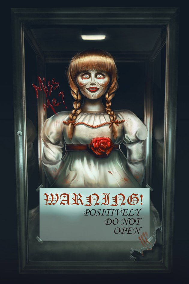 Annabelle The Movie Painting by Melody Nieves