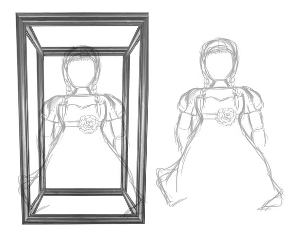 Draw a Rough Sketch of Annabelle