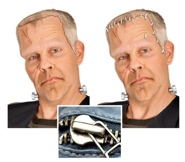 Add Staples to Frankensteins Head