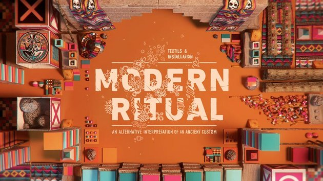 Modern Ritual Art by Fu
