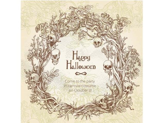Halloween Frame Party Invitation