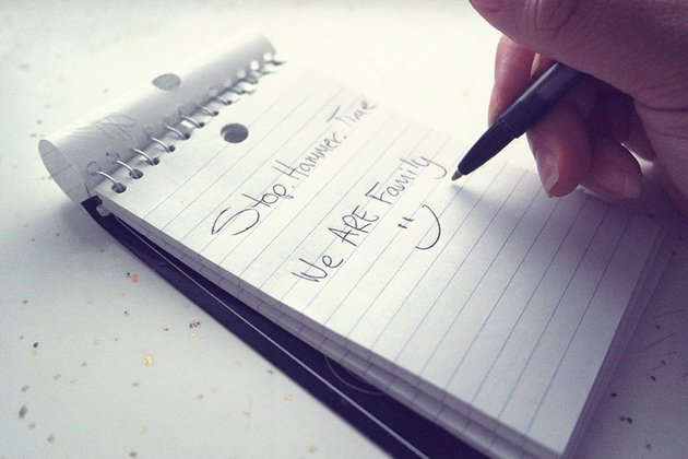 Write Your Ideas Down