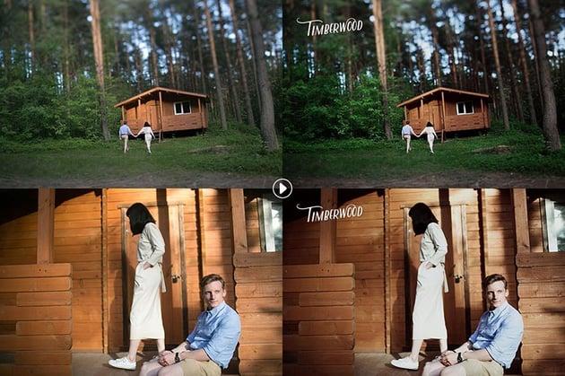 Timberwood Authentic Photoshop Actions