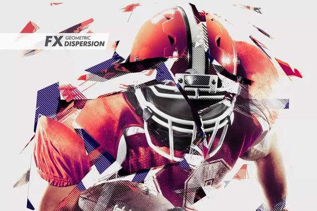 Geometric Dispersion FX Photoshop