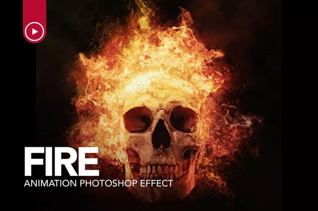 Fire Animation Photoshop Action