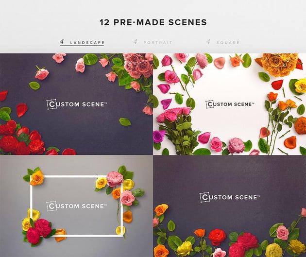 Flower Edition - Custom Scene