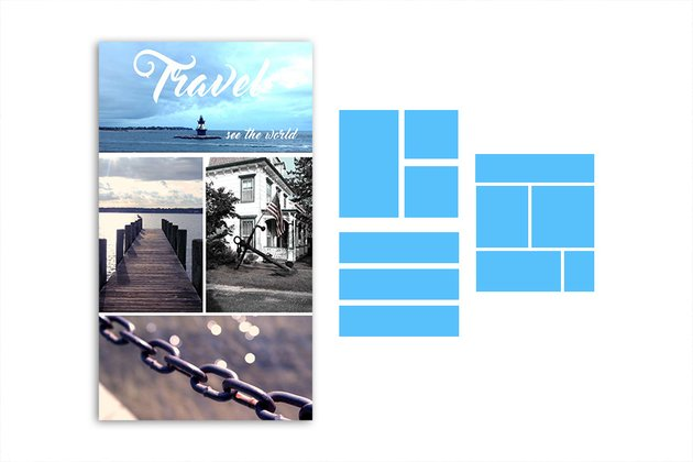 Final Photo Grid with Example Layouts
