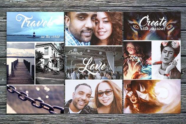 Create a Photo Grid in Adobe Photoshop