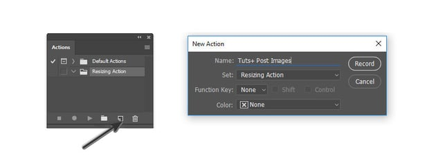 Create a New Action in Adobe Photoshop