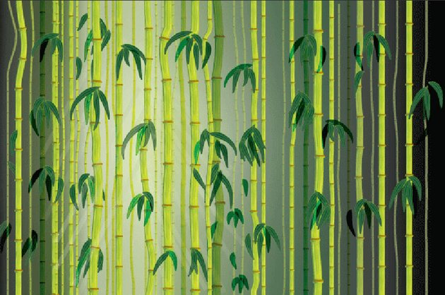 Vector Bamboo Forest by Ears Burning