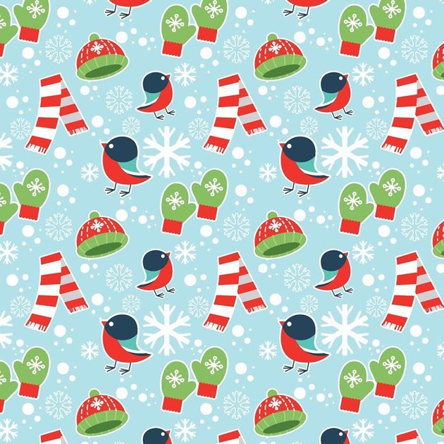 Vector Winter Seamless Pattern by tacticianjenro