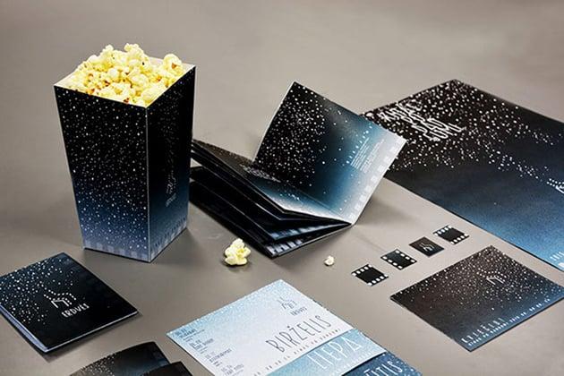 Cinema Festival Design by Aureja Juceviciute