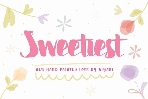 Sweetiest Font