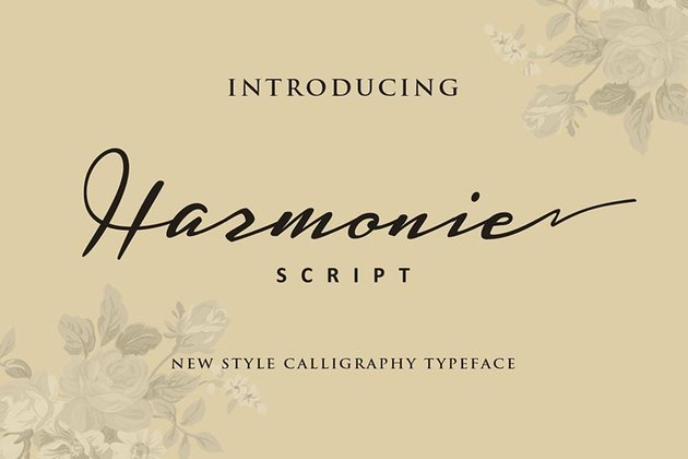 Harmonie Script Font