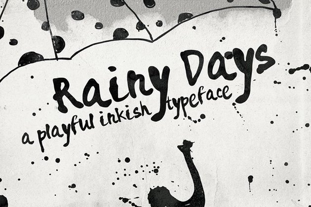 Rainy Days Typeface