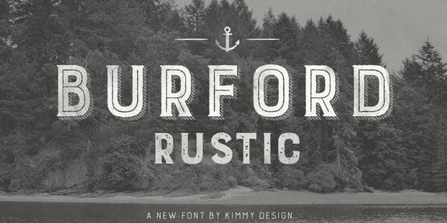 Burford Rustic Font
