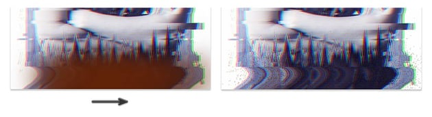 Creating Glitch Particles with Dissolve