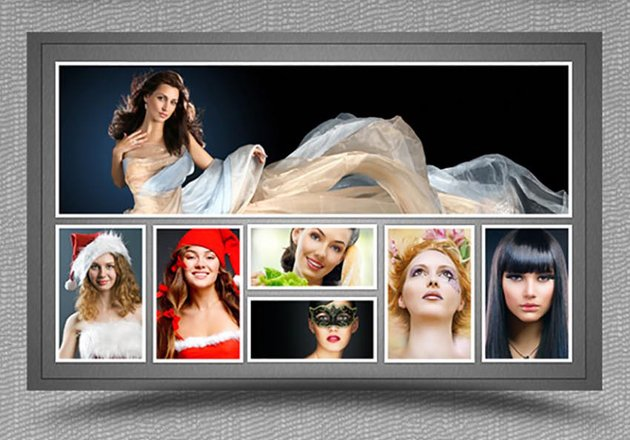 Collage Photo Frame Template Vol 1