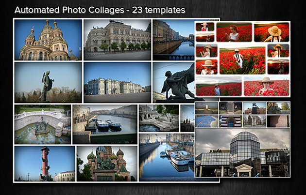 Automated Photo Collages Bundle