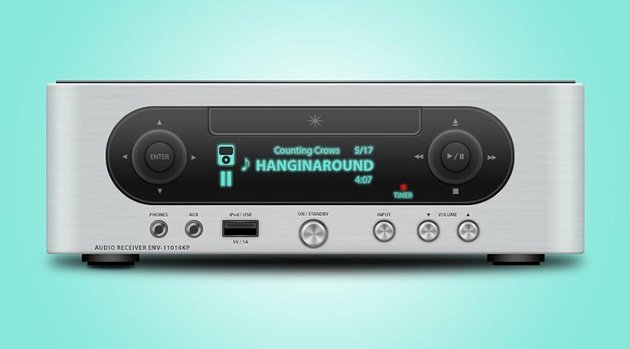 Audio Receiver Photoshop icon by Kevin